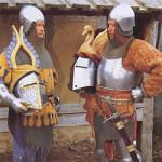 Европейский рыцарь XIV века - прообраз миниатюры