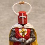 Оловянная миниатюра Гроссмейстер Тевтонского Ордена XIII век
