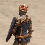 Оловянная миниатюра король Франции Иоанн II Добрый