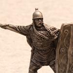 Оловянная миниатюра кельтский воин Iв.