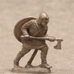 Набор из пяти оловянных миниатюр. Викинги.
