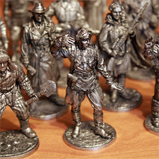 О коллекции солдатиков и моделей