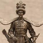 Оловянная миниатюра польский кавалерист XVIIв.