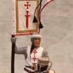 Оловянная миниатюра Рыцарь Ордена меченосцев