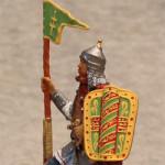 я миниатюра русский конный воин XIVв.
