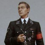 Оловянная миниатбюра Штирлиц. Производитель: Русский Витязь. 120 мм.