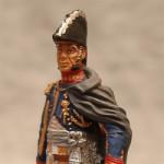 Оловянная миниатюра дивизионный генерал Эммануил Груши