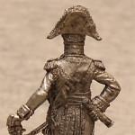 Оловянная миниатюра французский маршал 1805-15 годы