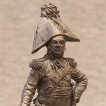 Оловянная миниатюра генерал Дмитрий Сергеевич Дохтуров. Россия. 1812 г.