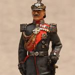 Оловянная миниатюра кайзер Вильгельм II