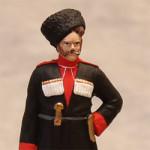 Оловянная миниатюра Кубанский казак