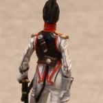 Оловянная миниатюра обер-офицер Лейб-Кирасирского полка. Россия. 1833-45гг.