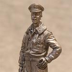 Оловянная миниатюра пилот ВВС Италии 1943-1945г.