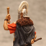 Оловянная миниатюра римский центурион