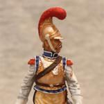 Оловянная миниатюра рядовой карабинерного полка