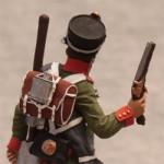 Оловянная миниатюра рядовой пионерного полка