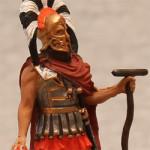 Оловянная миниатюра спартанский командир