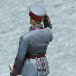 Оловянная миниатюра генерал инженерных войск в парадной форме
