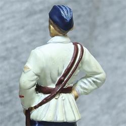 Оловянная миниатюра лейтенант ВВС РККА в летней форме