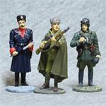 Оловянные миниатюры из журналов Солдаты великой отечественной войны