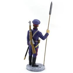 Оловянная миниатюра отделенный командир Донских казачьих частей
