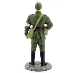 Оловянная миниатюра офицер ВВС РККА в летней форме