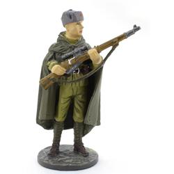 Снайпер РККА в осеннем камуфляже