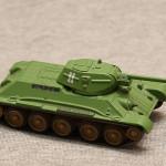 Масштабная модель танка Т-34. Русские Танки №6.
