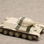 Масштабная модель танка Т-34. Русские Танки. Тестовый Выпуск №1.