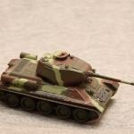 Масштабная модель танка Т-34. Русские танки №13.