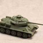 Масштабная модель танка Т-34.
