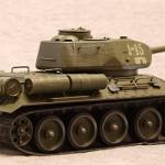 Масштабная модель танка Т-34-85. Звезда. 1:35