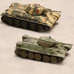 Масштабные модели танка Т-34 в масштабе 1:72