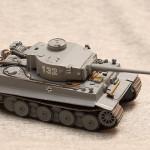 Масштабная модель танка Тигр. Combat Tank Collection.