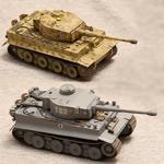 Масштабные модели танка Тигр в масштабе 1:72