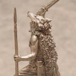 Оловянная миниатюра. Берсерк.