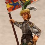 Оловянная миниатюра. Капитан армии Генриха VIII.