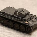 Масштабная модель танка PZ II. Wrzesien 1939.
