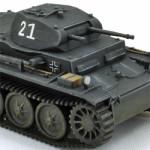 Масштабная модель танка PZ.KPFW.2. Масштаб 1:72.