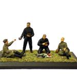 Советские танкисты. ICM. 35351.