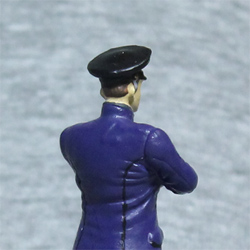 Оловянная миниатюра Офицер ВМФ в повседневной форме
