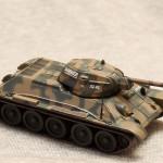 Масштабная модель танка Т-34. IXO-Altaya Military.