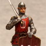 Оловянная миниатюра воин Великого Княжества Литовского