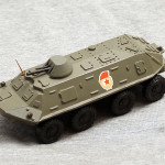 """Масштабная модель БТР-60 от п.о. """"Арсенал"""" им. Фрунзе"""