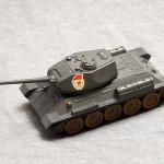 """Масштабная модель Т-34-85 от п.о. """"Арсенал"""" им. Фрунзе"""