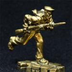 Бронзовые миниатюра Оборона Севастополя