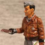 Оловянная миниатюра командир группы Люфтваффе