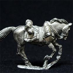 Оловянный кавалерист 28 мм.