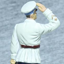 Оловянная миниатюра генерал-майор авиации в летнем обмундировании