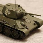 Масштабная модель танка т-34-76 в масштабе 1:72